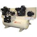 Ingersoll Rand 10-HP 120-Gallon Two-Stage Duplex Air Compressor (460V 3-Phase) Fully Packaged