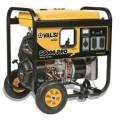 Valsi 8,000-Watt Kohler Command Gasoline Powered Portable Electric Start Single Phase Contractor Generator