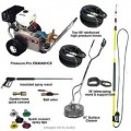 Pressure-Pro Deluxe Start Your Own Pressure Washer Kit w/ Belt-Drive & Electric Start