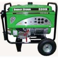 LIFAN 5,600-Watt Energy Storm 11 HP 337 cc Portable Generator with Wheel Kit and Electric/Recoil Start, CARB Compliant