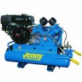 Jenny 8-HP 8-Gallon Wheelbarrow Air Compressor w/ Honda Engine
