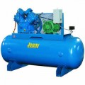 Jenny 10-HP 120-Gallon Two-Stage Air Compressor (230V 3-Phase)