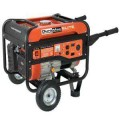 Duromax Elite Series 4,500-Watt 7.0 Hp Gasoline Powered Generator with Wheel Kit