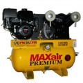 MAXair 11-HP 30-Gallon Truck Mount Air Compressor w/ Honda Engine & Electric Start
