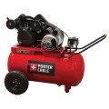 Porter Cable 1.6-HP 20-Gallon (Belt Drive) Dual Voltage Air Compressor PXCMPC1682066