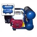 Eagle 5.5-HP 4-gallon Twin Stack Contractor Air Compressor w/ Honda Engine