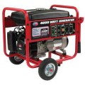 All Power 4,000-Watt 7 HP Gasoline Powered Portable Generator with Mobility Cart