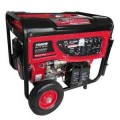 Smarter Tools 7,500-Watt Gasoline Powered Portable Generator with Electric Start, Battery and No Flat Wheels - EPA and CARB Approved