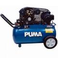 Puma 2-HP 20-Gallon (Belt Drive) Dual-Voltage Cast-Iron Air Compressor PK5020