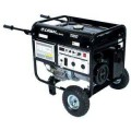 LIFAN 7,000-Watt Pro Series 13HP 389cc, GFCI Gasoline Powered Contractor Generator with Wheel Kit