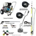 Pressure-Pro Deluxe Start Your Own Pressure Washing Business Kit With CAT Pump & Electric Start