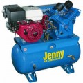 Jenny 11-HP 30-Gallon Truck-Mount Two-Stage Air Compressor w/ Honda Engine