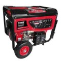Smarter Tools 7,800 Continuous Watt Portable Gas Generator with Electric Start, Battery and No-Flat Wheels - EPA and CARB Approved
