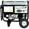 LIFAN 7,000-Watt Platinum Series 13HP 389cc, Gasoline Powered Idle Control, GFCI, Low THD System, Rental Duty Generator