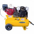 EMAX 8-HP 17-Gallon (Belt Drive) Cast-Iron Air Compressor w/ Honda Engine