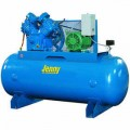 Jenny 7.5-HP 80-Gallon Two-Stage Air Compressor (460V 3-Phase)