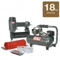 Senco 1-Gallon Hot Dog Air Compressor w/ 18-Gauge Brad Nailer