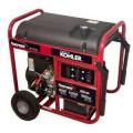 Powermate 8,000-Watt Gasoline Powered Portable Generator Electric Start Powered by Kohler Engine