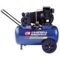 Campbell Hausfeld 2-HP 20-Gallon (Belt Drive) Dual-Voltage Cast-Iron Air Compressor