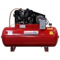 Schrader 7.5-HP 80-Gallon Two-Stage Horizontal Air Compressor (230V Single-Phase)