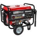 Durostar 4,400-Watt 7.0 Hp Air Cooled OHV Gasoline Powered Generator with Wheel Kit
