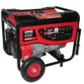 Smarter Tools 6,500-Watt Gasoline Powered Portable Gasoline Generator with No-Flat Wheels-EPA and Carb Approved