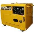 PRO-SERIES 7,000 Peak-Watt Silent Diesel Contractor Generator