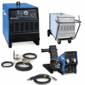 Miller Dimension 652 Multiprocess Welder, Feeder, Accessory Package, and Cart (951278)