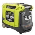 Ryobi 2,200-Watt Gasoline Powered Digital Inverter Generator