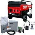 Winco 10,800 Watt Tri-Fuel Power System w/ Electric Start Honda Engine