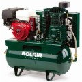 Rolair 11-HP Honda 30-Gallon Two-Stage Truck Mount Air Compressor w/ Electric Start