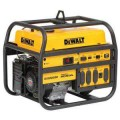 DEWALT 4,500-Watt Gasoline Powered Portable Generator with Honda Engine Manual Start