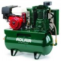 Rolair 13-HP 30-Gallon Two-Stage Truck Mount Air Compressor w/ Electric Start Honda Engine