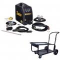 Tweco Fabricator 181i MIG and Stick & TIG Welder Pkg with Cart