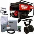 Winco PSS6H - 5500 Watt Dual Fuel Power System w/ Electric Start Honda Engine