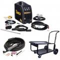Tweco Fabricator 211i MIG, TIG & Stick Welder Pkg with Cart