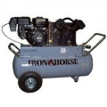 Iron Horse 6-HP 25-Gallon Gas (Belt-Drive) Cast-Iron Air Compressor